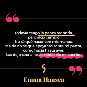 Cita de Emma Hansen